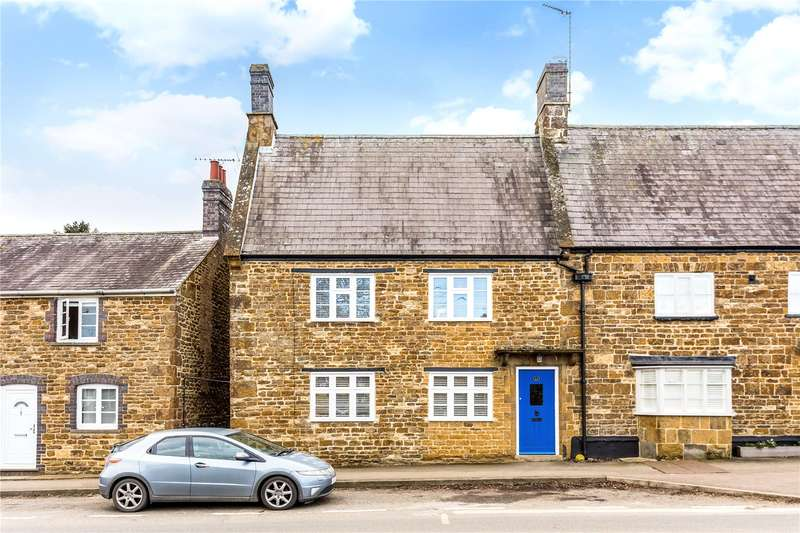 3 Bedrooms Semi Detached House for sale in High Street, Middleton Cheney, Banbury, Northamptonshire, OX17