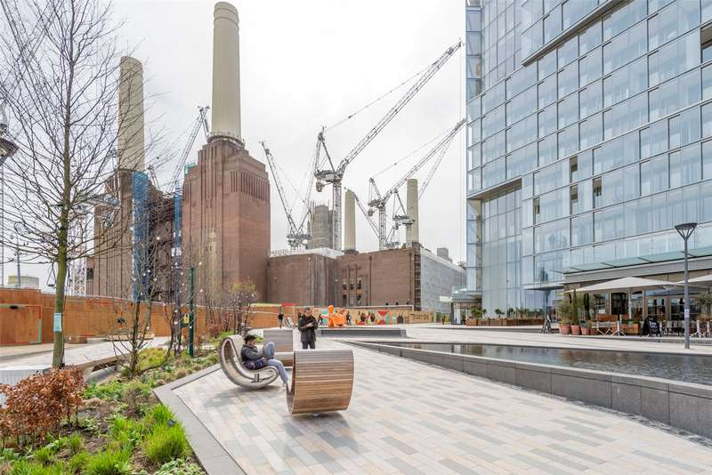 3 Bedrooms Apartment Flat for sale in Boiler House Square, Battersea Power Station, Nine Elms, London, SW8