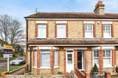 3 Bedrooms End Of Terrace House for sale in Gladstone Road, Farnborough Village
