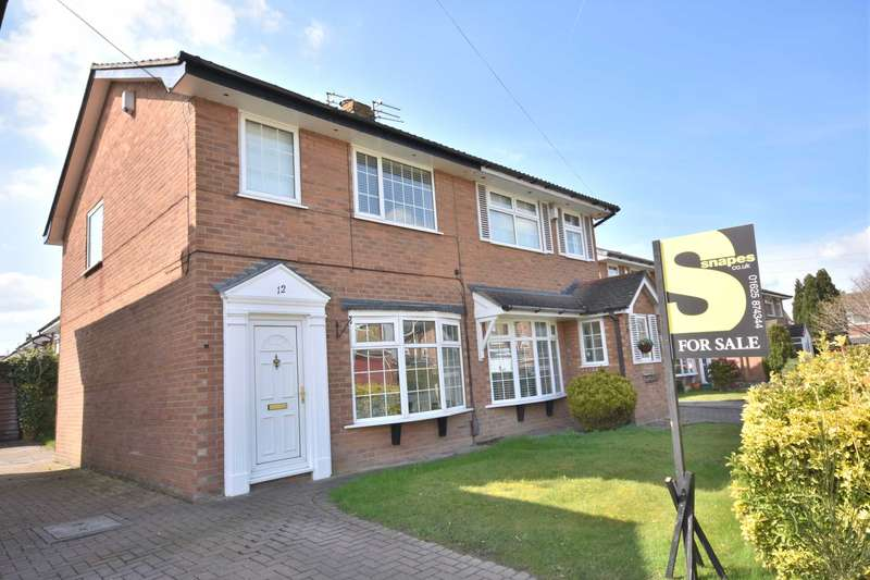 3 Bedrooms Semi Detached House for sale in TEAL AVENUE, POYNTON