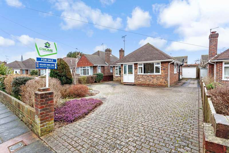 3 Bedrooms Detached Bungalow for sale in Upton Road, Worthing