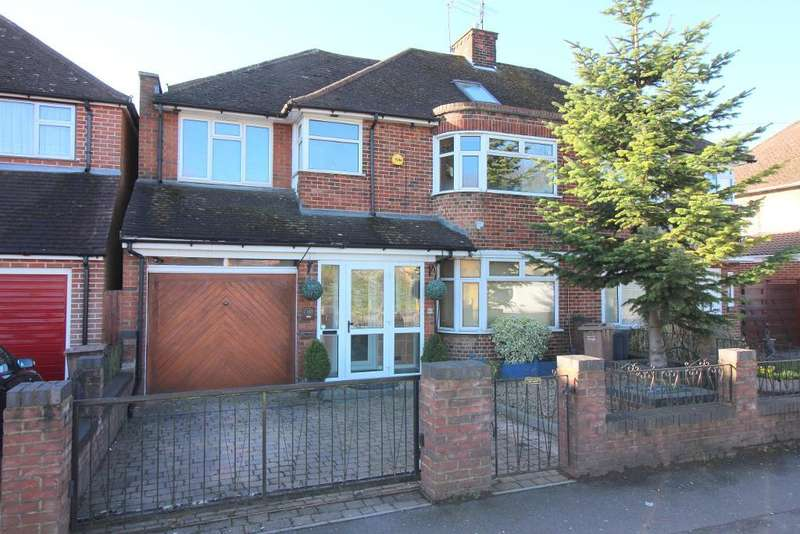 5 Bedrooms Semi Detached House for sale in Riddy Lane, Luton, Bedfordshire, LU3 2AD