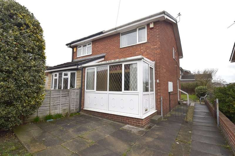 2 Bedrooms Semi Detached House for sale in Birchtree Close, Pinders Heath, Wakefield
