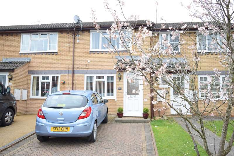 2 Bedrooms Terraced House for sale in Gifford Close, Two Locks, Cwmbran, NP44