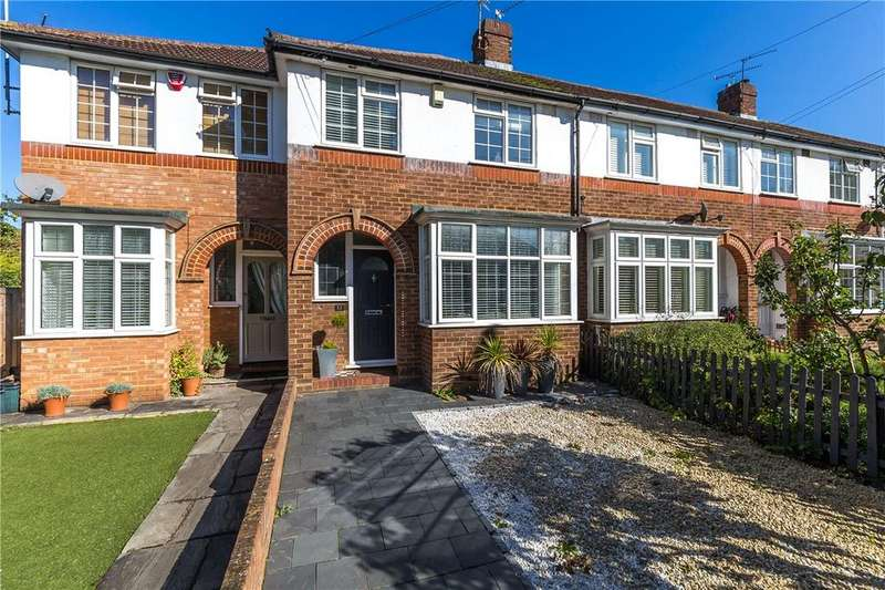 3 Bedrooms Terraced House for sale in Mentmore Road, St. Albans, Hertfordshire
