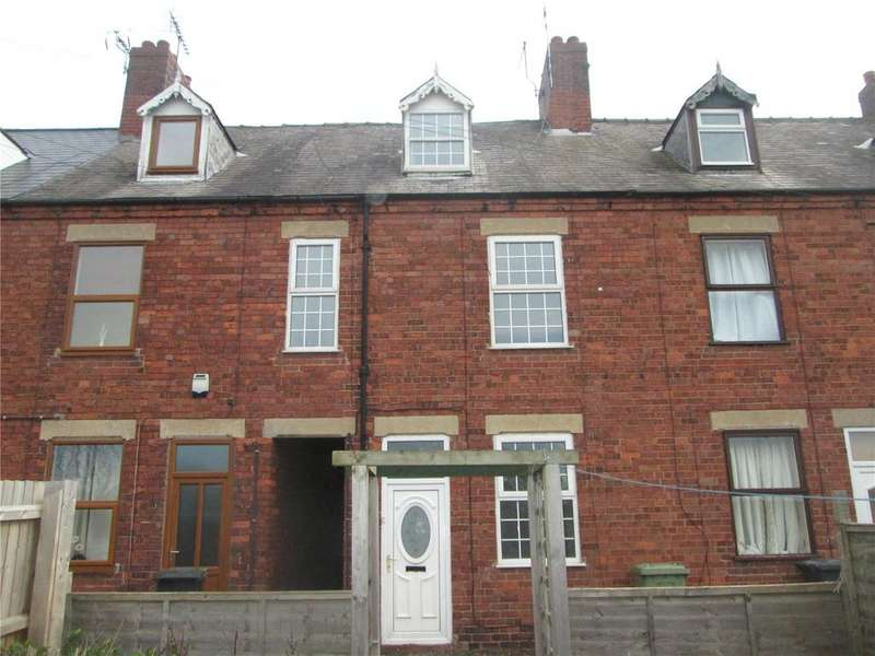 3 Bedrooms Terraced House for sale in Parkway, Whitwell, Nottinghamshire, S80
