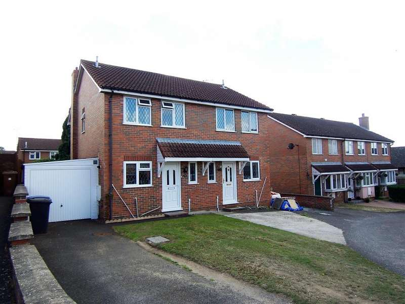 3 Bedrooms Semi Detached House for sale in Bouchier Close, Hadleigh, IP7 5SS
