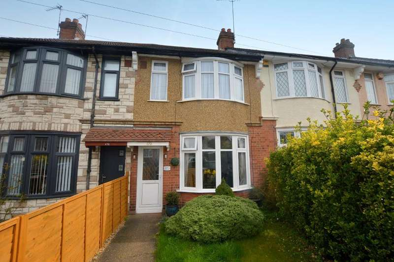 2 Bedrooms Terraced House for sale in Bishopscote Road, Luton, Bedfordshire, LU3 1PE