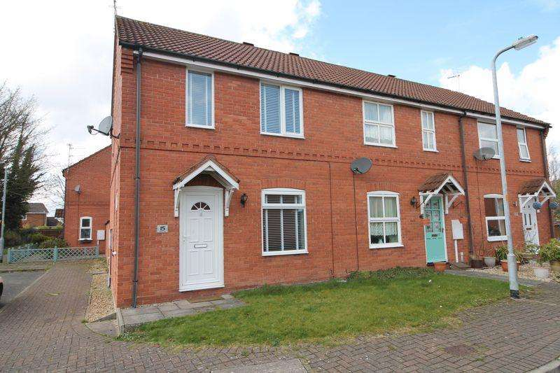 2 Bedrooms End Of Terrace House for sale in Daniels Gate, Spalding