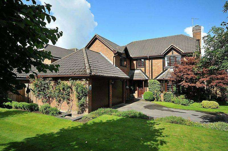 4 Bedrooms Detached House for sale in Fabulous detached family house - Bexton Lane, Knutsford