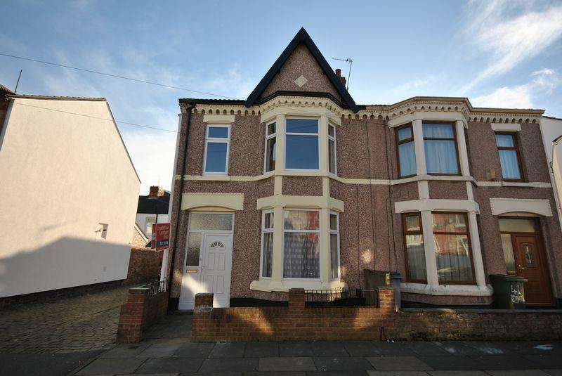 3 Bedrooms Terraced House for sale in Edith Road, Wallasey