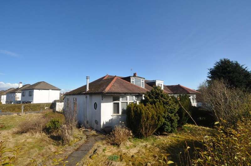 4 Bedrooms Semi Detached Bungalow for sale in Cheviot Drive, Newton Mearns, Glasgow, G77