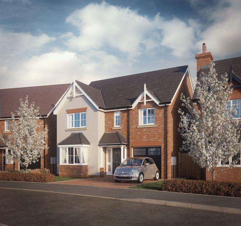 4 Bedrooms Detached House for sale in Plot 4, Shrewsbury Road, Shrewsbury