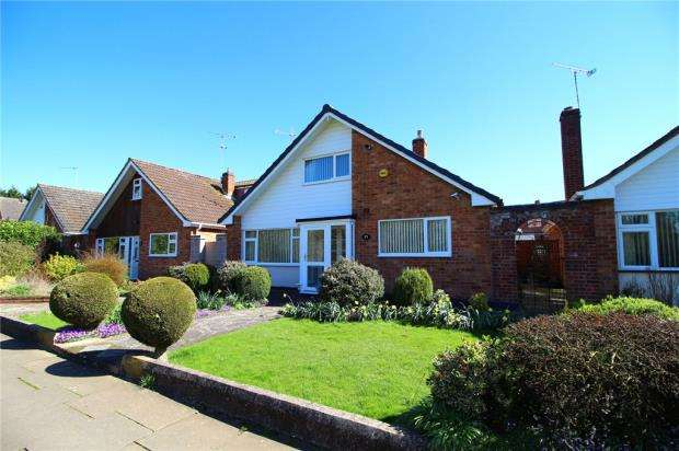 4 Bedrooms Detached Bungalow for sale in Lawford Close, Binley, Coventry, West Midlands