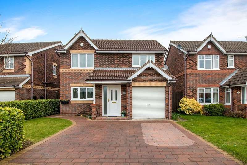 4 Bedrooms Detached House for sale in Fair Holme View, Armthorpe, Doncaster, DN3