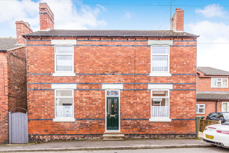 3 Bedrooms Detached House for sale in Parliament Street, Newhall, Swadlincote, DE11