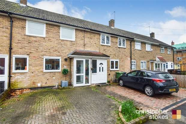 2 Bedrooms Terraced House for sale in Kingsley Avenue, Cheshunt, WALTHAM CROSS, Hertfordshire