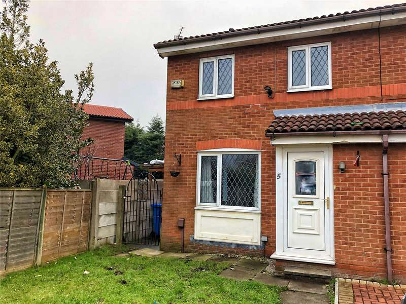 2 Bedrooms Semi Detached House for sale in Clover View, Rochdale, Greater Manchester, OL16