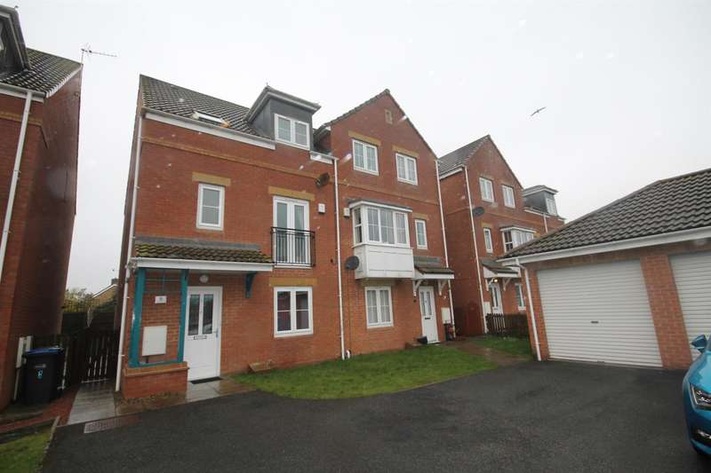 3 Bedrooms Town House for sale in Ascot Way, St. Helen Auckland, Bishop Auckland