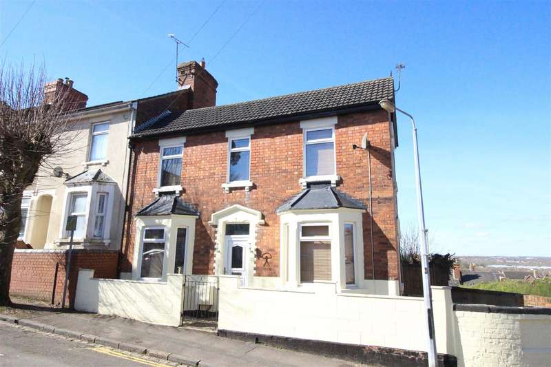 3 Bedrooms End Of Terrace House for sale in Ashford Road, Swindon