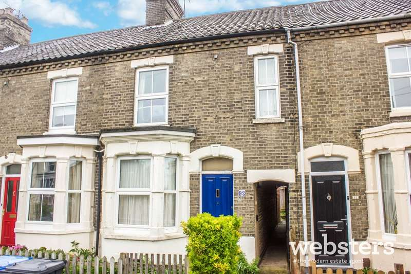 3 Bedrooms Terraced House for sale in Gloucester Street, Norwich NR2