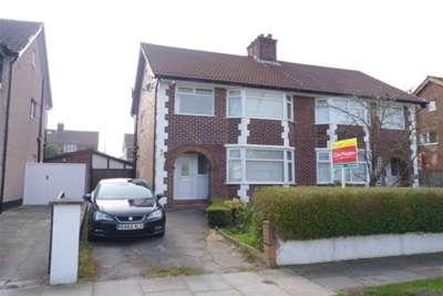 3 Bedrooms Semi Detached House for rent in Heyville Road, Bebington