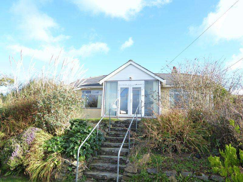 3 Bedrooms Detached Bungalow for sale in Trethevy, Tintagel