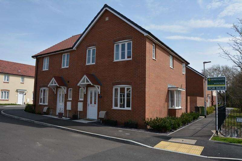 3 Bedrooms Semi Detached House for sale in Hamley Close, Burnham-On-Sea
