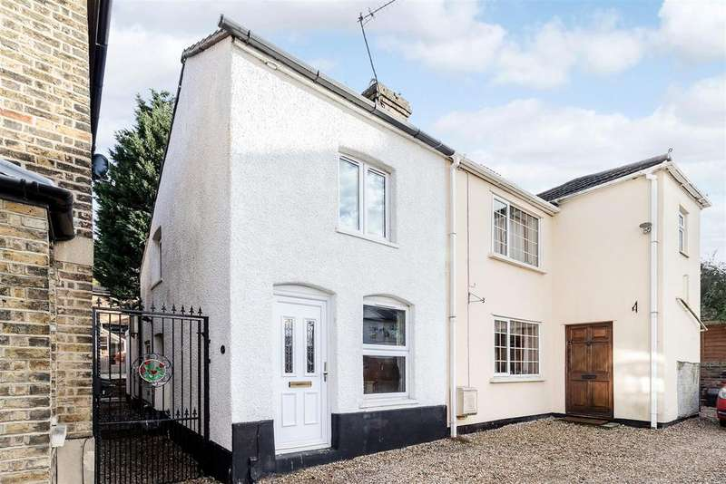 2 Bedrooms Semi Detached House for sale in The Chase, Cromwell Road, Warley, Brentwood
