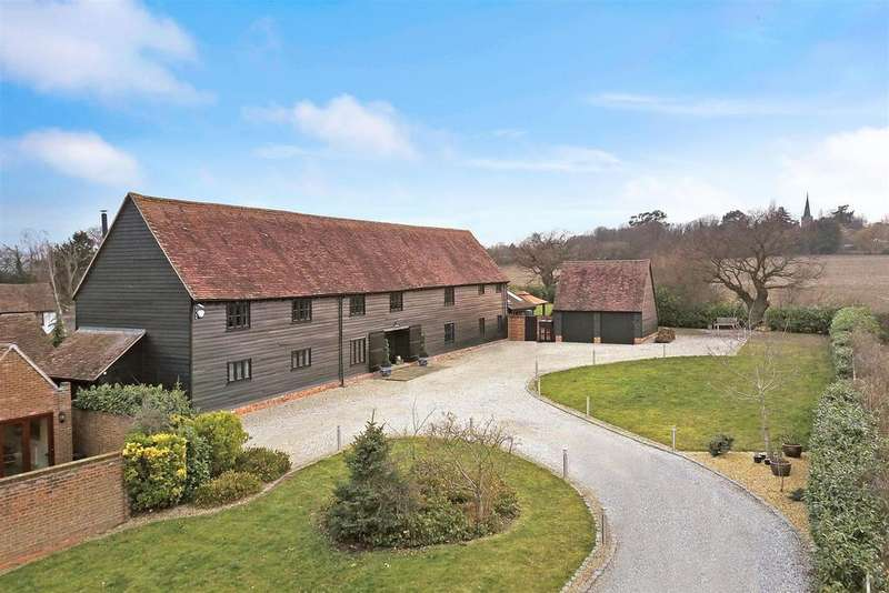 4 Bedrooms Detached House for sale in Church Street, Great Burstead