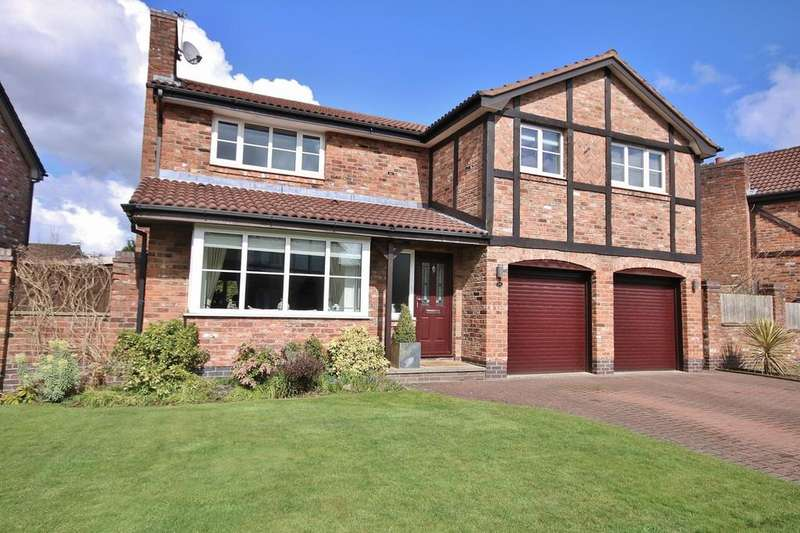 4 Bedrooms Detached House for sale in Hazelwood Road, Wilmslow