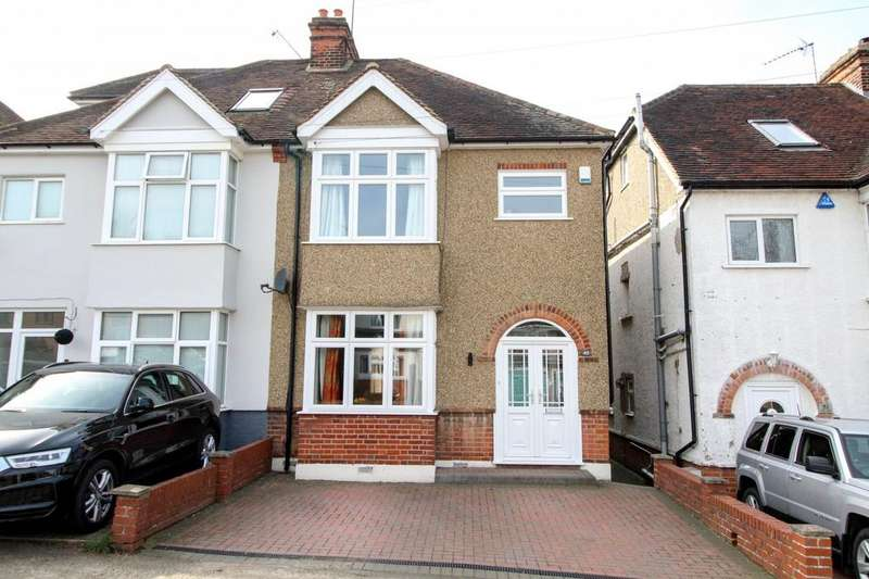 3 Bedrooms Semi Detached House for sale in Warley Mount, Warley, Brentwood, Essex, CM14