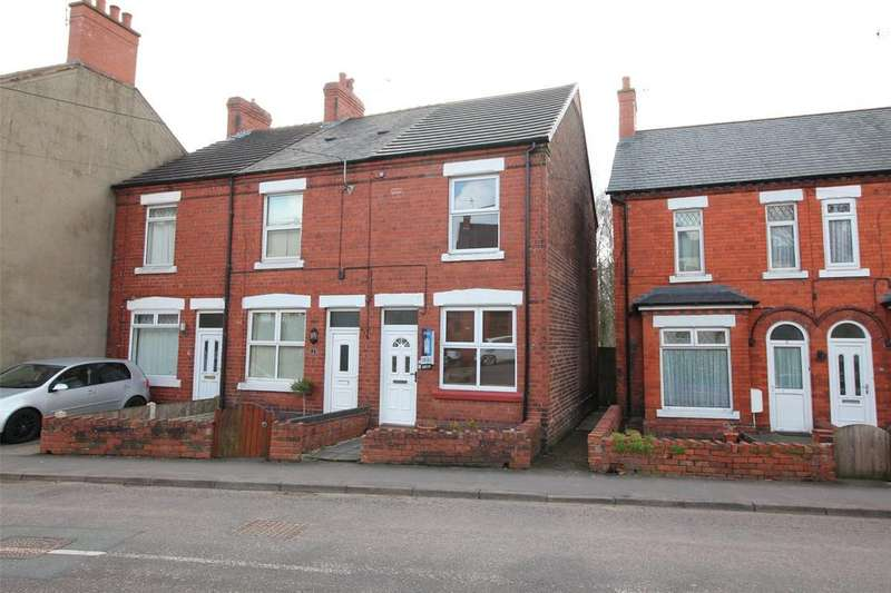 2 Bedrooms End Of Terrace House for sale in Western Villas, Southsea Road, Southsea, Wrexham, LL11