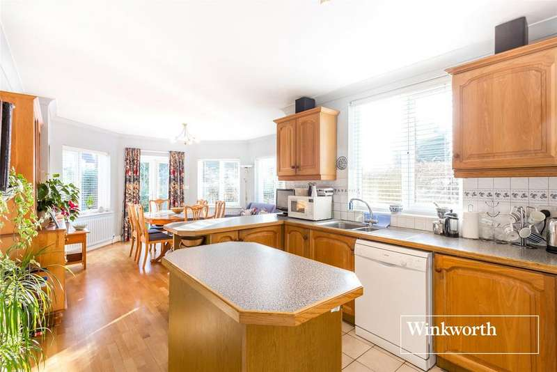 4 Bedrooms Link Detached House for sale in Hadley Road, New Barnet, Herts, EN5