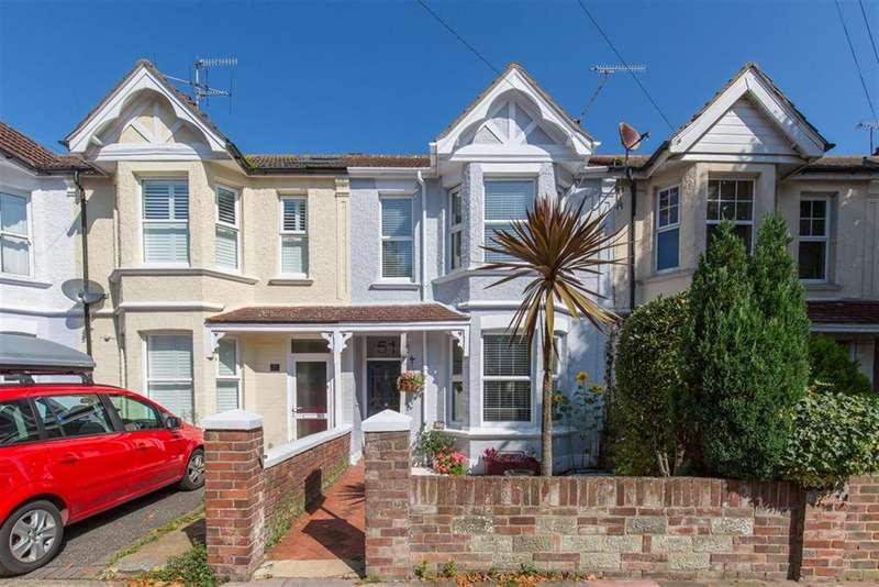 3 Bedrooms Terraced House for sale in Kingsland Road, Broadwater, Worthing, BN14 9ED