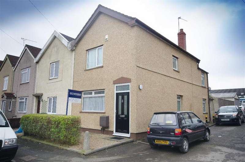 2 Bedrooms End Of Terrace House for sale in North View, Soundwell, Bristol, BS16 4NT