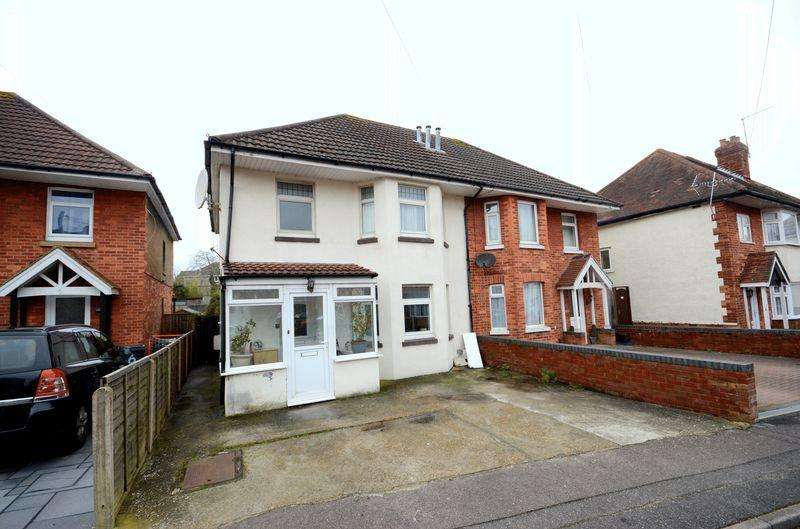 3 Bedrooms Semi Detached House for sale in Stanton Road, Bournemouth