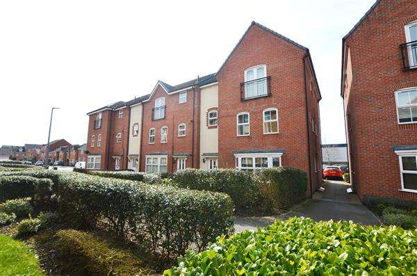 1 Bedroom Apartment Flat for sale in Archers Walk, Trent Vale, Stoke-On-Trent