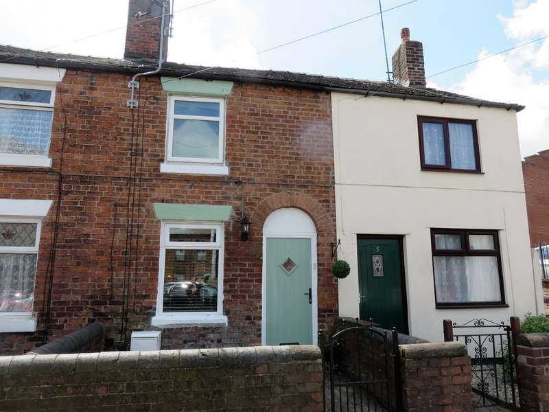 2 Bedrooms Terraced House for rent in Cross Street, Biddulph ST8