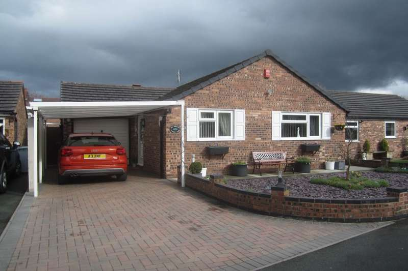 2 Bedrooms Detached Bungalow for sale in Stamp Close, Crewe, CW1