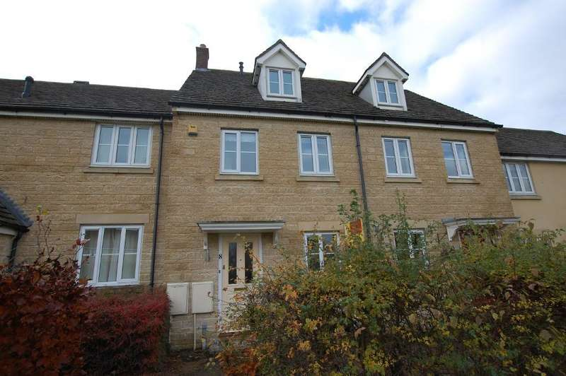 3 Bedrooms Terraced House for rent in Cranberry Road, Witney, Oxon, OX28 1AE
