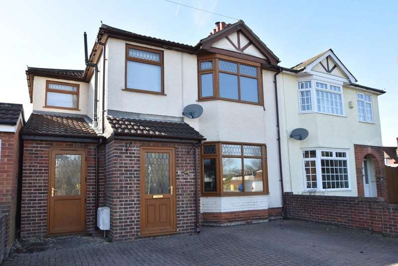 4 Bedrooms Semi Detached House for sale in Sidegate Lane, Ipswich, IP4 4JN