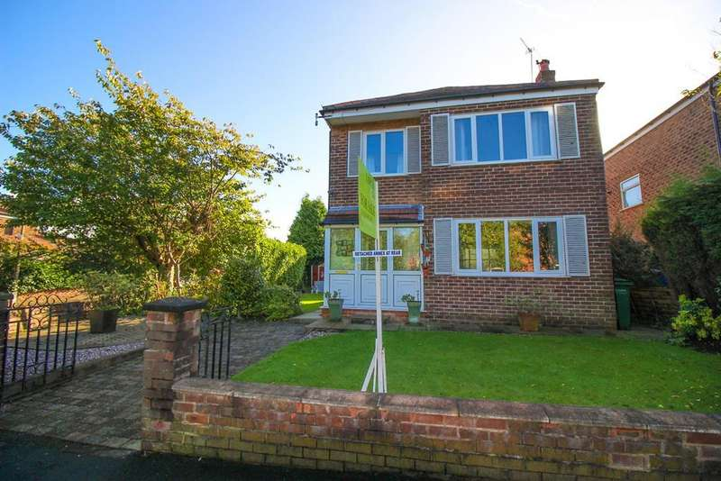 3 Bedrooms Detached House for sale in Eyam Road, Hazel Grove, Stockport, SK7