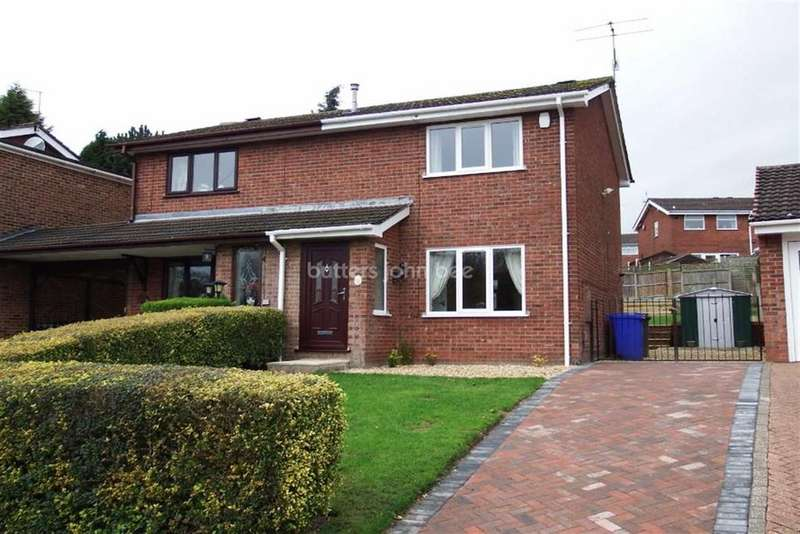 2 Bedrooms Semi Detached House for rent in 11 Monsal Grove, Birches Head