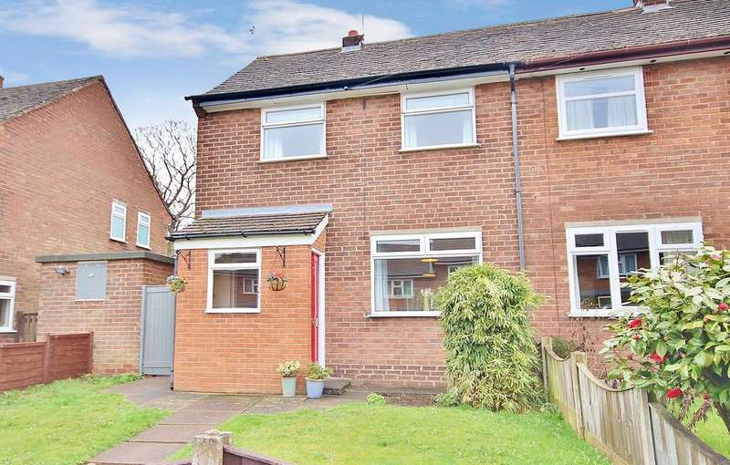 2 Bedrooms Semi Detached House for sale in Newton Road, Wilmslow