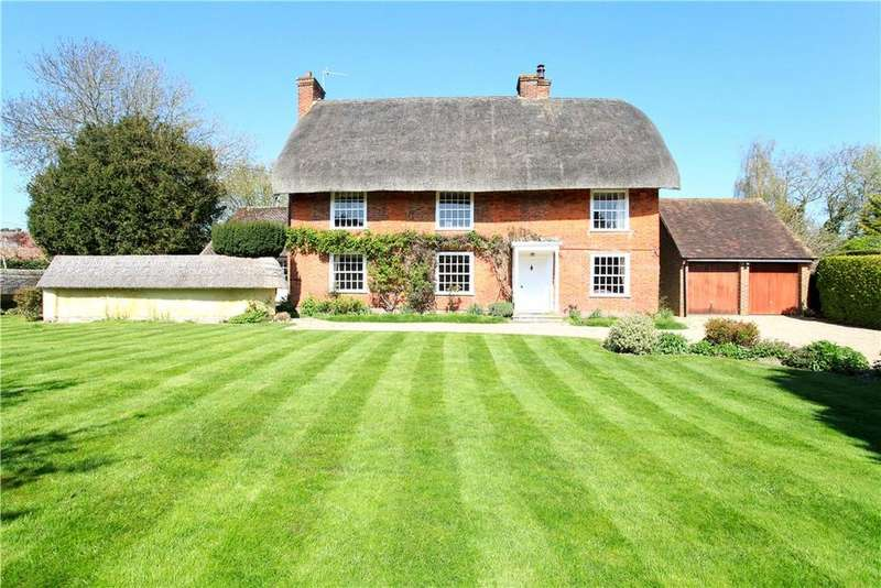 5 Bedrooms Detached House for sale in Dixons Lane, Broughton, Stockbridge, Hampshire, SO20