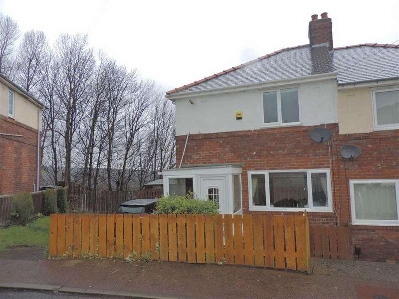 2 Bedrooms Semi Detached House for rent in Hardie Avenue, Whickham