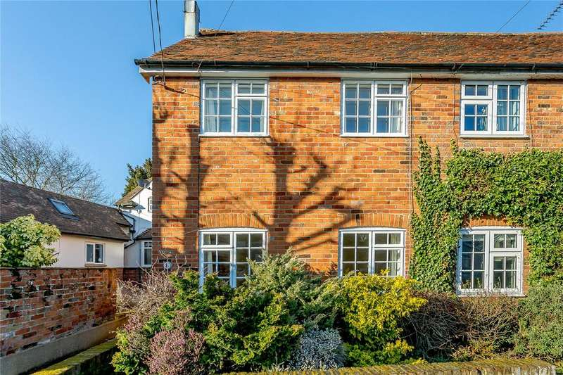 3 Bedrooms Semi Detached House for sale in Bridge Street, Writtle, Chelmsford, CM1