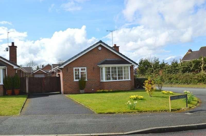 2 Bedrooms Detached Bungalow for sale in Chapel Croft, Chelford
