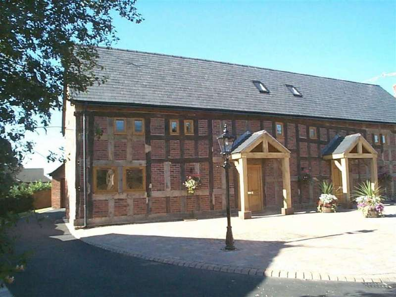 4 Bedrooms Barn Conversion Character Property for sale in Old Hall Gardens, Sandbach
